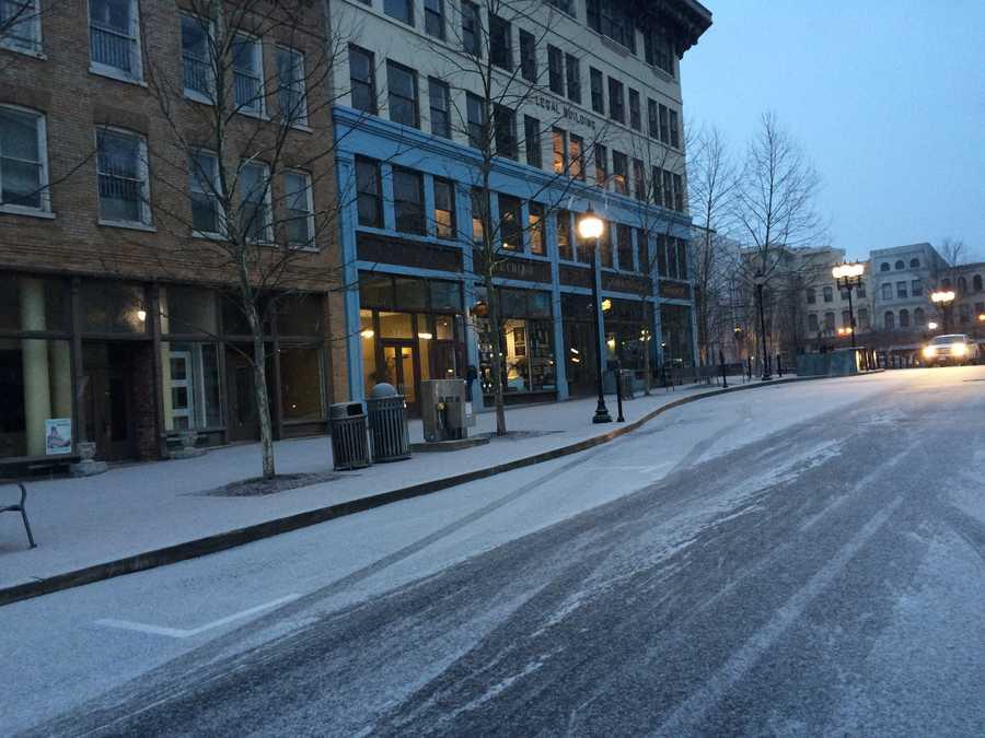 Asheville Wednesday morning