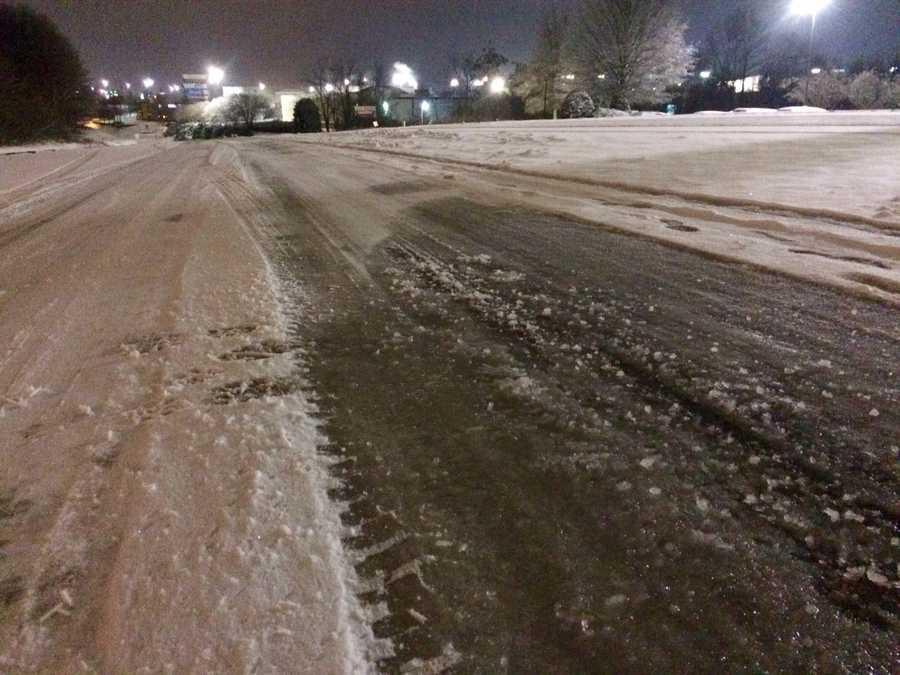 Spartanburg roads Saturday morning