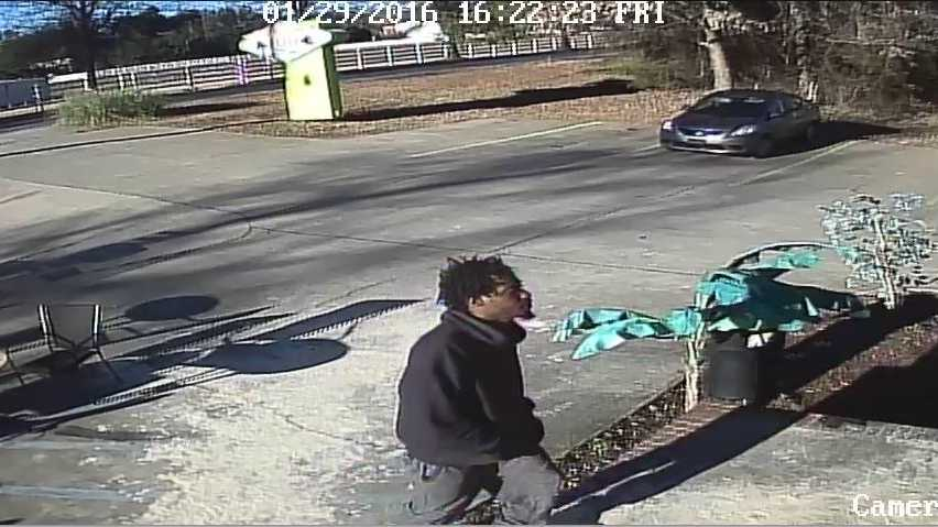 Police released this image of a second armed robbery suspect from an incident at Club 100 in Greenville.