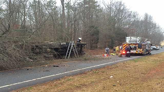 McKittrick Road crash