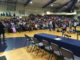 Elbert County High School signing ceremony