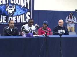 Elbert County HS: Montavious Tinch (football) Miles College
