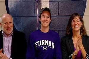 Sean Langan at St. Joes signed to play soccer at Furman