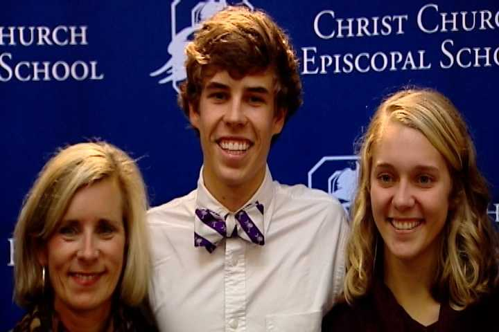 Hayes Sherman at Christ Church signed with Furman to play tennis