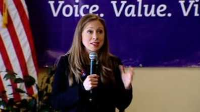 Chelsea Clinton campaigned for her mother at Converse College