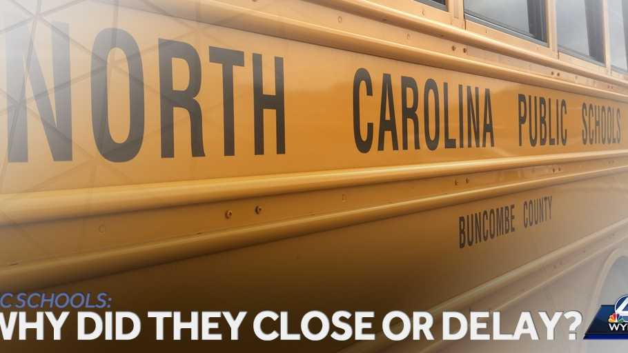WNC Schools: Why did they close or delay?