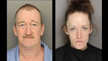 Dale Elroy Mathis: Charged with murder and third-degree arsonDavia Nicole Smith: Charged with murder, financial card theft, and financial card fraud