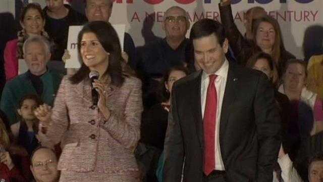 Gov. Nikki Haley endorses Marco Rubio