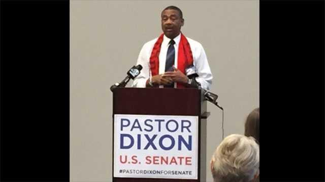 Pastor Thomas A. Dixon, N. Charleston, announced he will challenge Sen. Tim Scott's re-election bid.