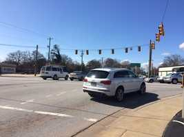 More than 7,000 Duke Energy customers were left without power in Greenville County. Anderson had more than 3,000 outages and Spartanburg County reported more than 3,000 customers without power.