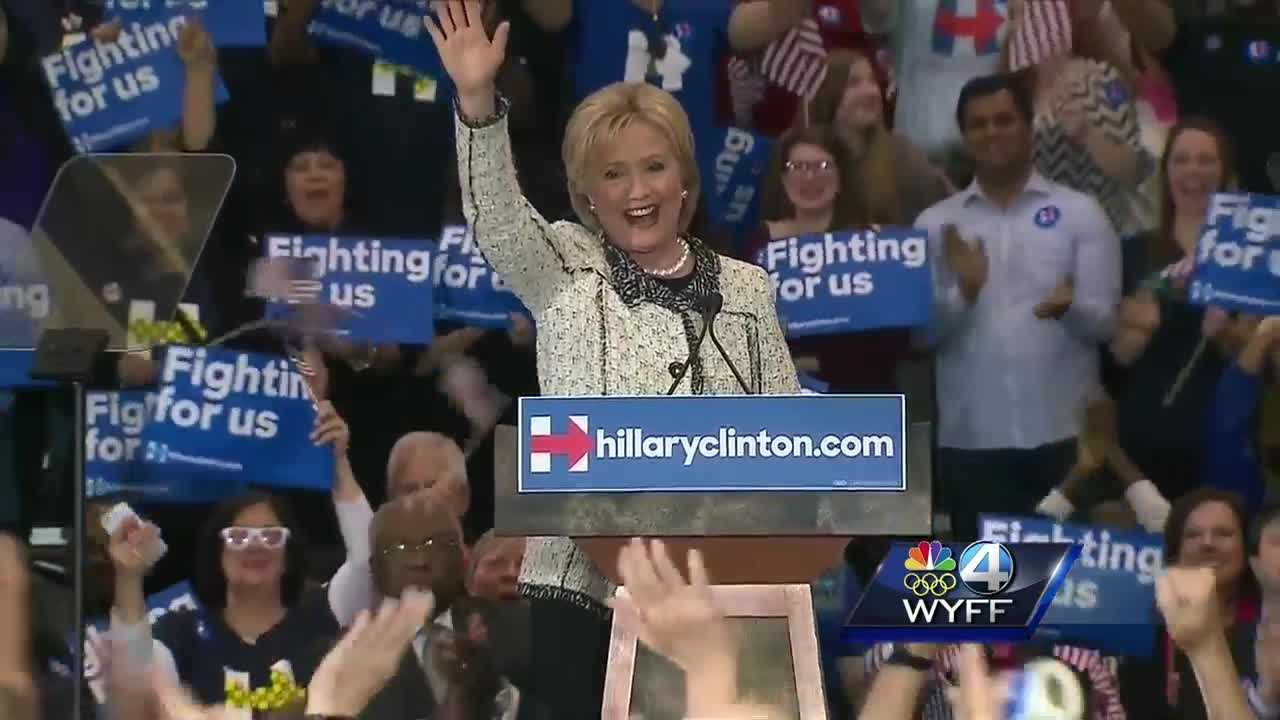 Hillary Clinton speech after Democratic primary win