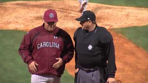 South Carolina Head Baseball Coach Chad Holbrook