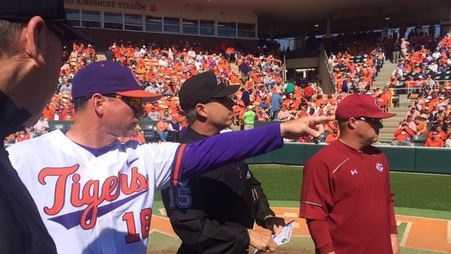 The Clemson - South Carolina baseball rivalry is widely regarded as the best rivalry in college baseball.