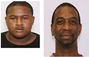 Left: Tarrence McKissick charged with distribution of crack cocaineRight: Rodrick Brown charged with distribution of crack cocaine