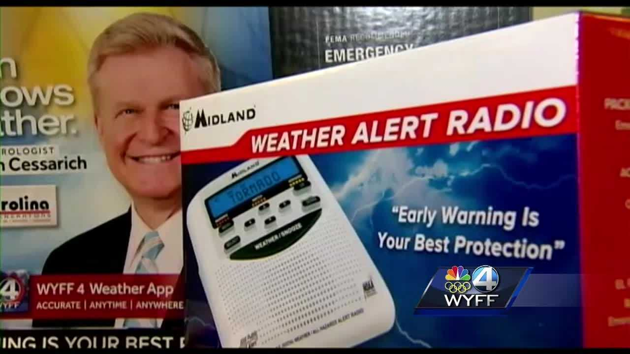 WYFF 4 is once again offering weather radios to help keep you and your loved ones safe during severe weather season.