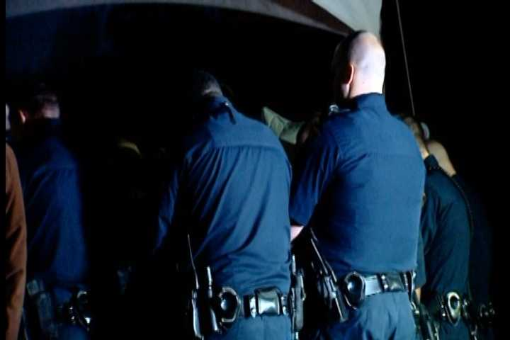 Just before 7 a.m Monday, Greenville police officers gathered and bowed their heads in front of Jacobs' squad car, on Stone Avenue in front of the Law Enforcement Center.