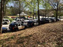 On Wednesday, other agencies from around the Upstate came to pay their respects to Officer Allen Jacobs.