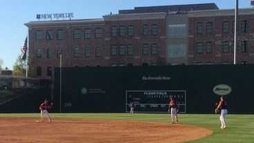 Fluor Field in downtown Greenville is the home of the Greenville Drive minor league baseball team and often hosts area college and high school baseball teams to play in this replica of Boston's Fenway Park.