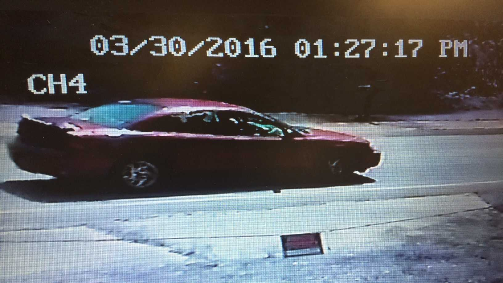 Spartanburg County investigators say someone in this car threw trash out the window in the Fairforest area.