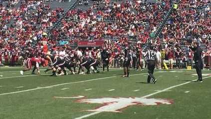 More than 32,000 fans turned out to watch South Carolina's spring game which was the first of the Will Muschamp era.