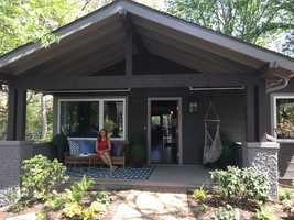 HGTVs Urban Oasis 2015 Home on Russell Street in West Ashville is now for sale by Mosaic Community Lifestyle Realty. WYFF News 4's Gabrielle Komorowski took a tour of the home Thursday.