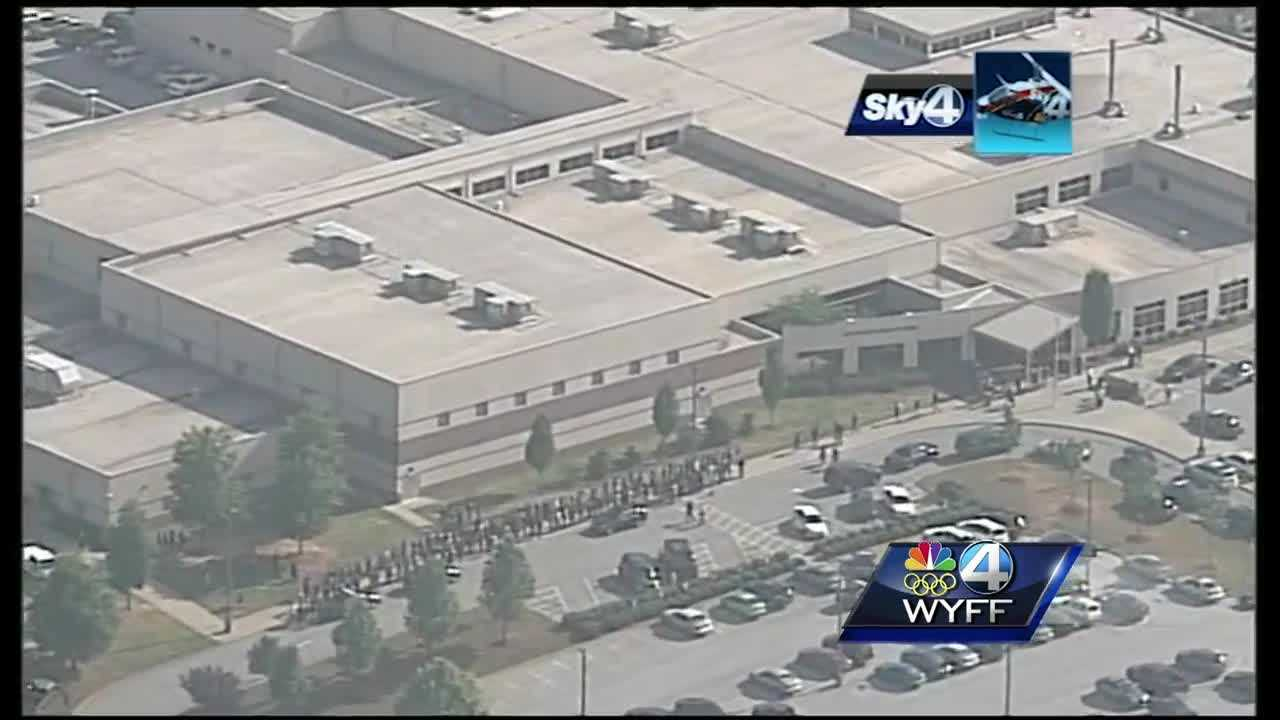 2 students involved with accidental shooting causes a temporary lockdown at Southside High School.