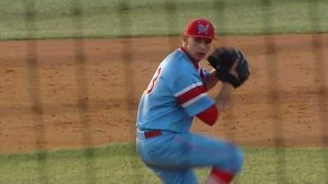 J.L. Mann pitcher Jack Stamler