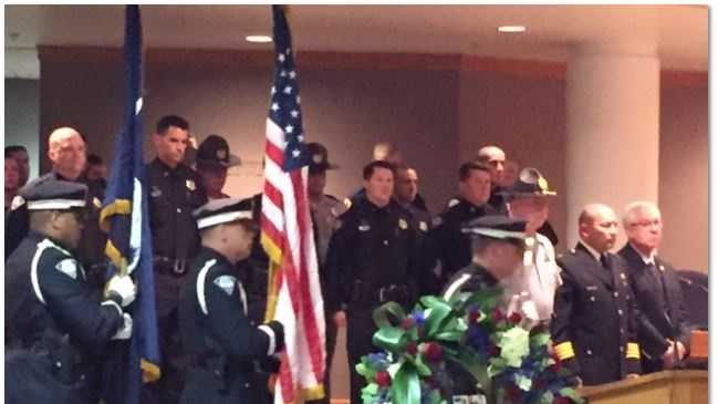 Fallen Officers Memorial Service 2016 in Greenville County