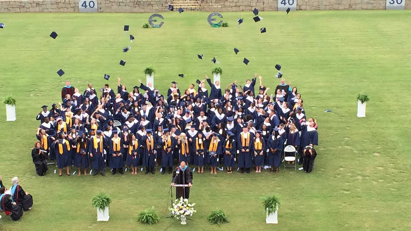 Some students unable to attend graduation due to date change.