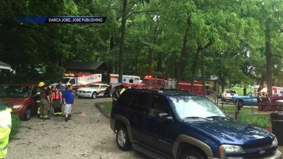 A group of Clemson students who were trapped by flash flooding on a field trip to a Kentucky cave on Thursday are safe after walking through neck-deep water to escape the rising water.
