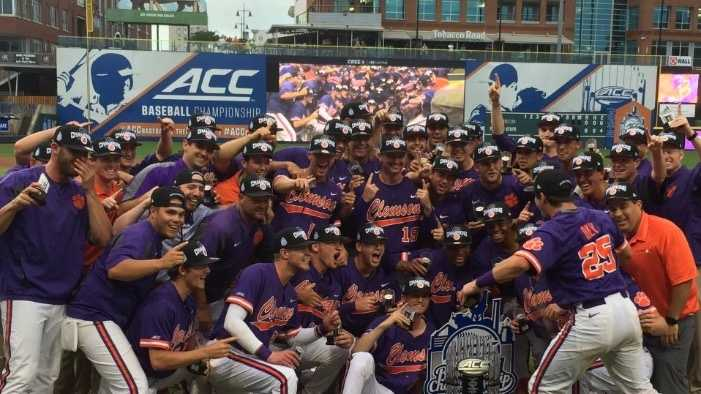The Clemson Tigers captured the 2016 ACC Baseball Tournament Championship with an 18-13 win over Florida State.