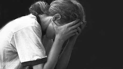 generic abused teen girl