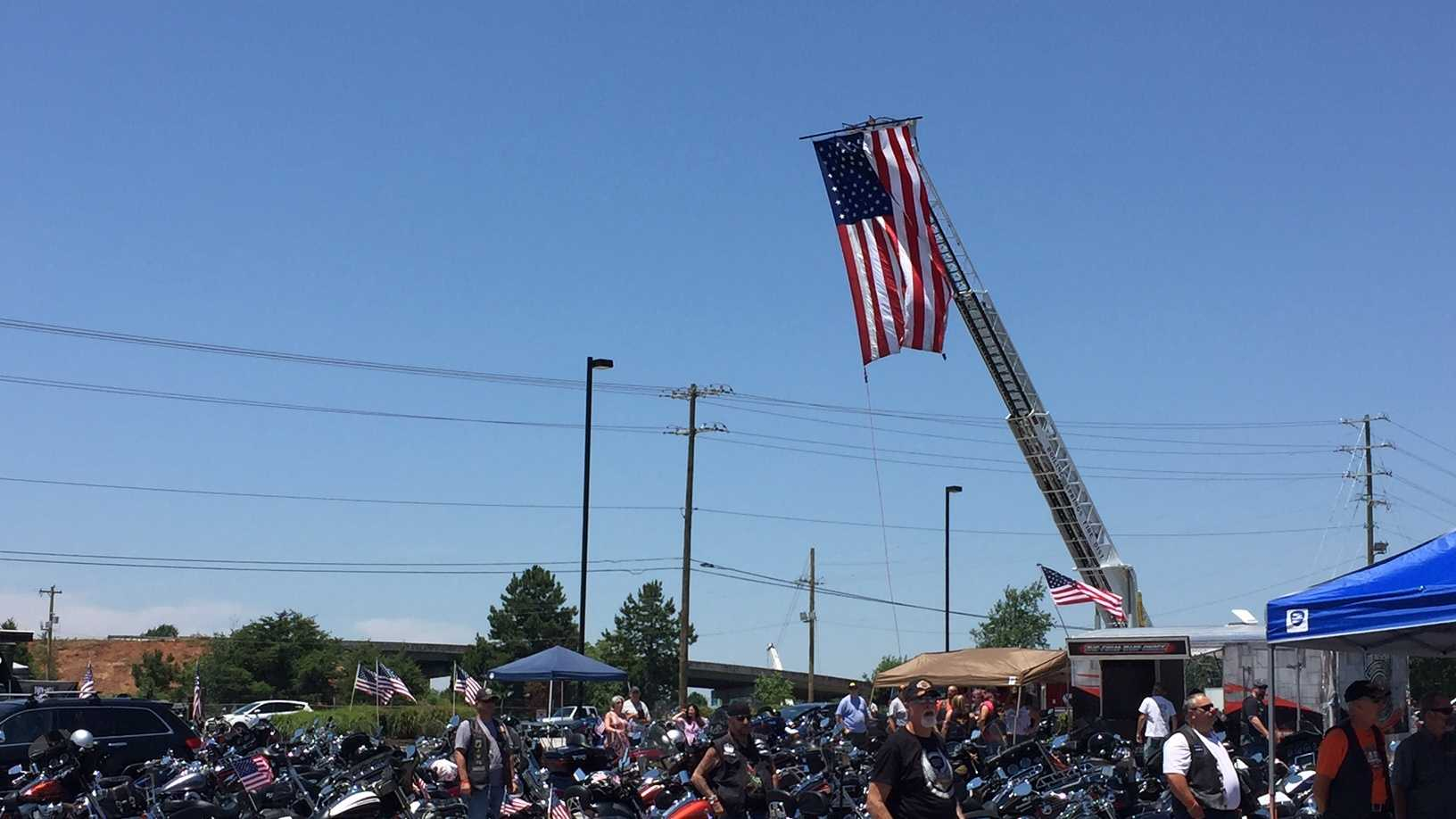 Hundreds of riders raise money for WWII, Korean War vets in Upstate