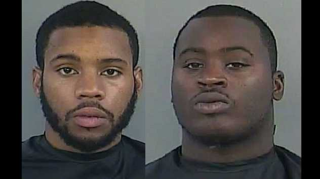 Deangelo Davis, Darius Sadler: Charged in armed home invasion