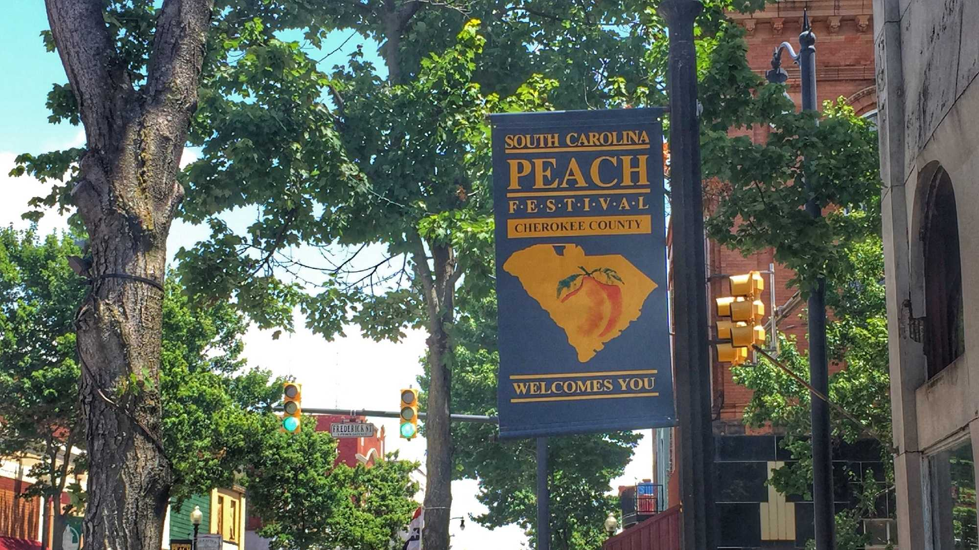 The South Carolina Peach Festival begins Friday in Gaffney.