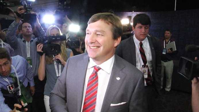 Georgia Head Coach Kirby Smart