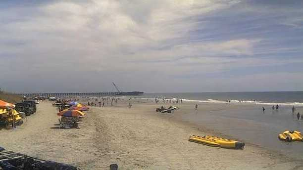 Myrtle Beach from Ocean Avenue