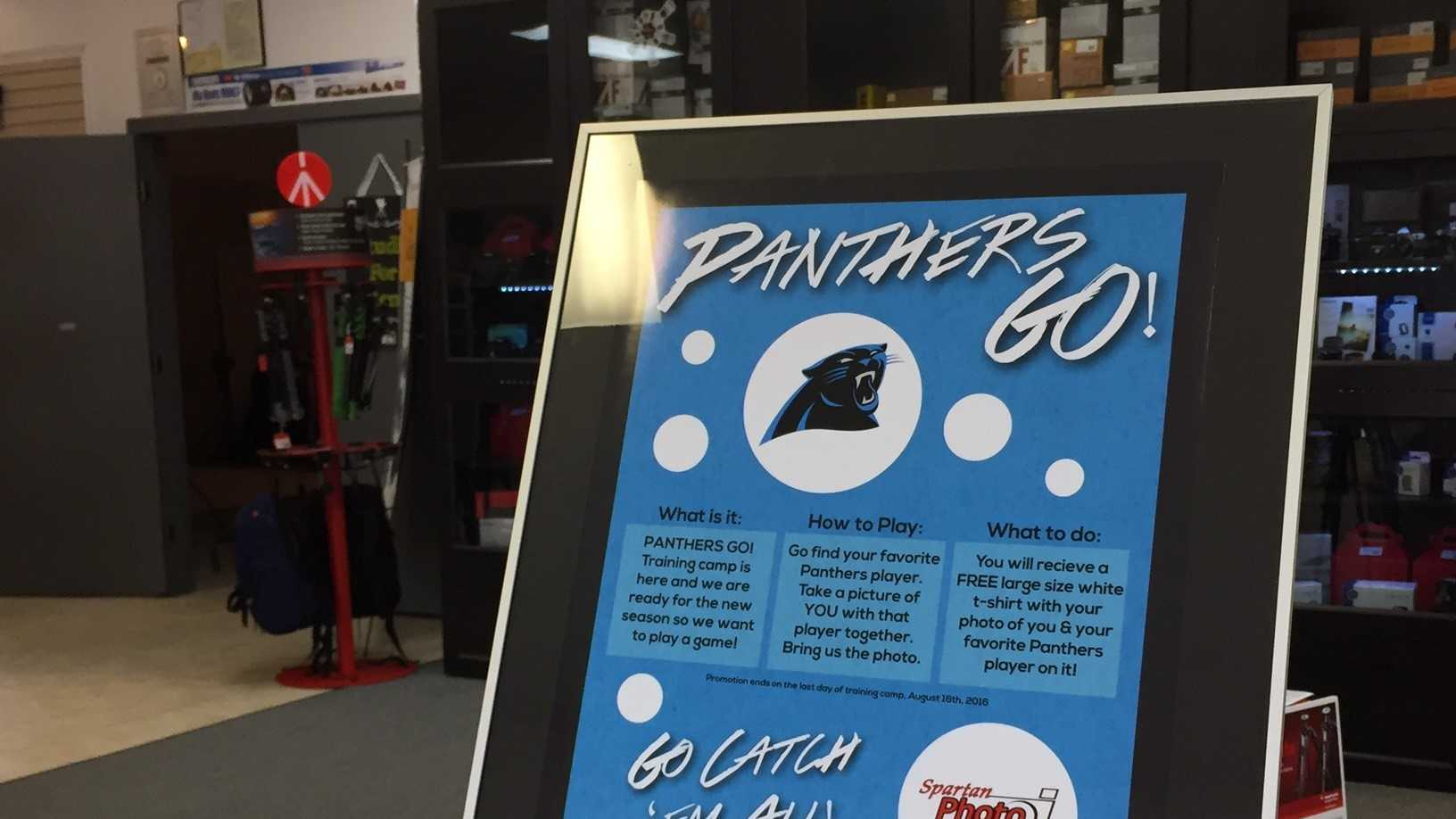 Some local businesses are offering deals to Panthers fans who show their pride during training camp.