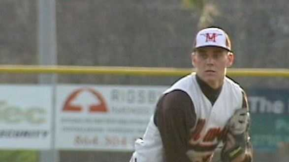Madison Younginer, a former pitcher for the Mauldin Mavericks, has been called up by the Atlanta Braves.