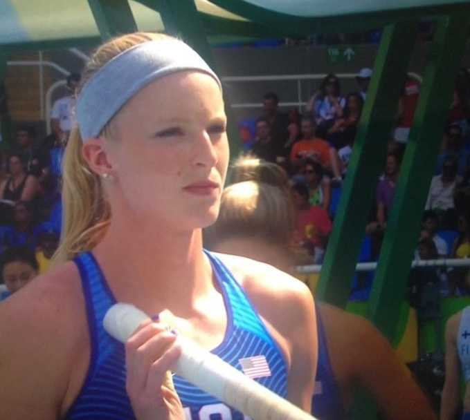 Greenville native Sandi Morris is in Rio competing in the Olympics in pole vaulting.