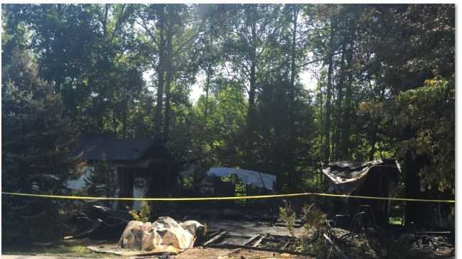Two people were found dead after a house fire in Pickens County.