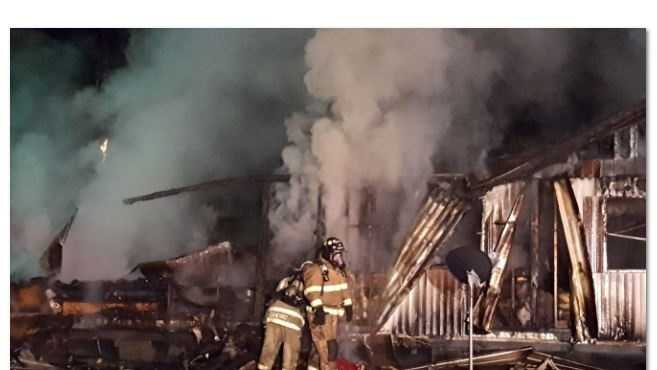 Firefighters responded to an overnight fire at a mobile home in Oconee County.