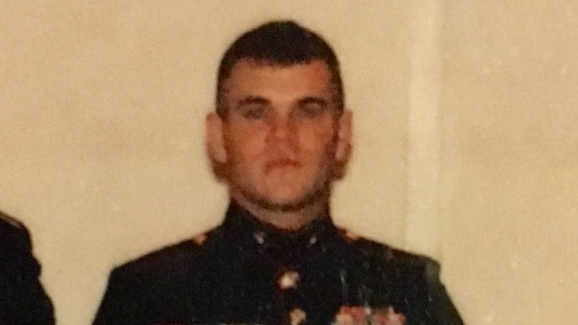 Family and friends said Marine Donald Taylor suffered from PTSD.