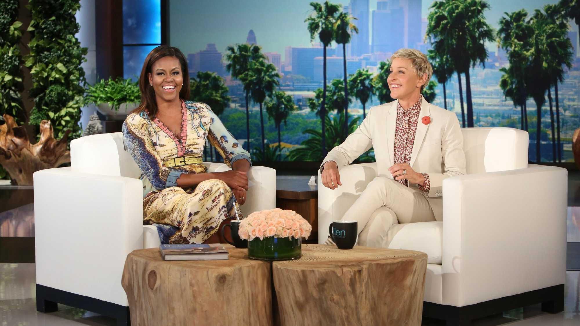 Michelle Obama on Ellen