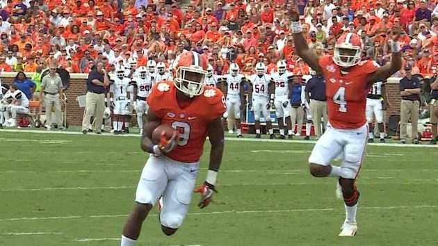 Clemson improves to 3-0 with a victory over S.C. State.