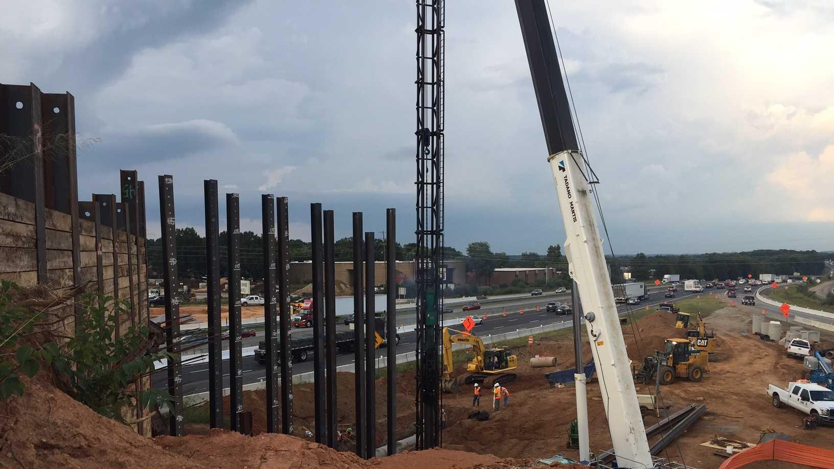Gateway construction September 2016.