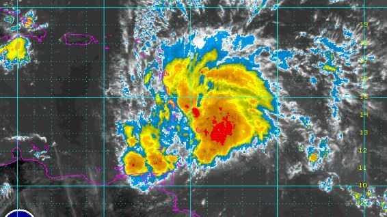 Matthew radar Wednesday.JPG