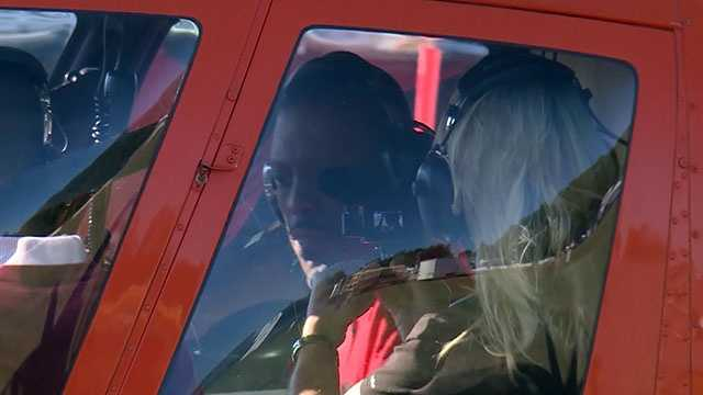 Surprise chopper ride