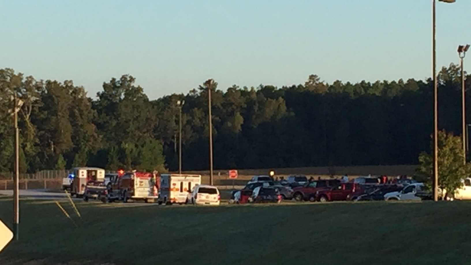 flat rock elementary evacuated.JPG
