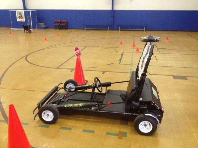 This new go-kart at the Greer Police Department is being used to show drivers what it's like to drive impaired.